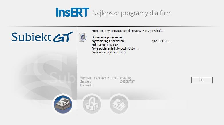 Logowanie Subiekt GT